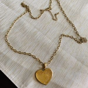 Lia Sophia gold necklace EUC!